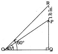 KSEEB SSLC Class 10 Maths Solutions Chapter 12 Some Applications of Trigonometry Ex 12.1 Q 8