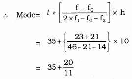 KSEEB SSLC Class 10 Maths Solutions Chapter 13 Statistics Ex 13.2 Q 1.1