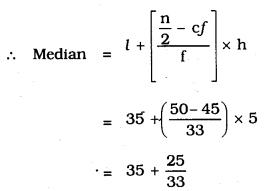 KSEEB SSLC Class 10 Maths Solutions Chapter 13 Statistics Ex 13.3 Q 3.2