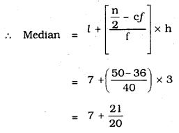 KSEEB SSLC Class 10 Maths Solutions Chapter 13 Statistics Ex 13.3 Q 6.2