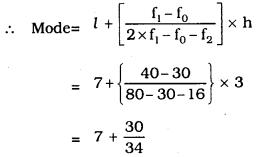 KSEEB SSLC Class 10 Maths Solutions Chapter 13 Statistics Ex 13.3 Q 6.3
