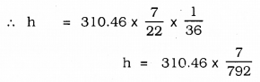 KSEEB SSLC Class 10 Maths Solutions Chapter 15 Surface Areas and Volumes Ex 15.3 Q 1.1
