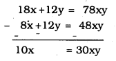 KSEEB SSLC Class 10 Maths Solutions Chapter 3 Pair of Linear Equations in Two Variables Ex 3.6 1