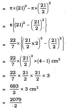 KSEEB SSLC Class 10 Maths Solutions Chapter 5 Areas Related to Circles Ex 5.1 4
