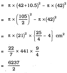 KSEEB SSLC Class 10 Maths Solutions Chapter 5 Areas Related to Circles Ex 5.1 7