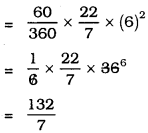ex 5.2 class 10 Maths kseeb Solutions Chapter 5 Areas Related to Circles