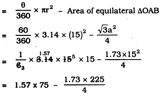 KSEEB SSLC Class 10 Maths Solutions Chapter 5 Areas Related to Circles Ex 5.2 12
