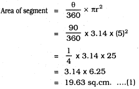 KSEEB SSLC Class 10 Maths Solutions Chapter 5 Areas Related to Circles Ex 5.2 18