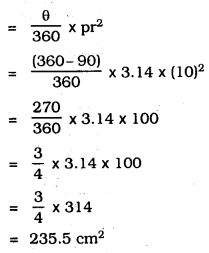 KSEEB SSLC Class 10 Maths Solutions Chapter 5 Areas Related to Circles Ex 5.2 6