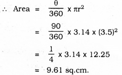 KSEEB SSLC Class 10 Maths Solutions Chapter 5 Areas Related to Circles Ex 5.3 29