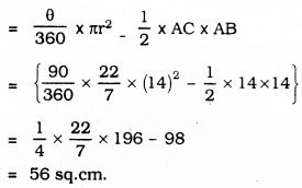 KSEEB SSLC Class 10 Maths Solutions Chapter 5 Areas Related to Circles Ex 5.3 36