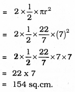 KSEEB SSLC Class 10 Maths Solutions Chapter 5 Areas Related to Circles Ex 5.3 6