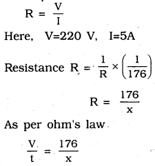KSEEB SSLC Class 10 Science Solutions Chapter 12 Electricity Ex Q 10