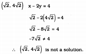 KSEEB Solutions for Class 9 Maths Chapter 10 Linear Equations in Two Variables Ex 10.2 1