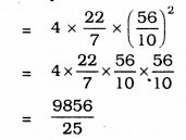 KSEEB Solutions for Class 9 Maths Chapter 13 Surface Area and Volumes Ex 13.4 Q 1.2