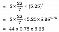 KSEEB Solutions for Class 9 Maths Chapter 13 Surface Area and Volumes Ex 13.4 Q 8