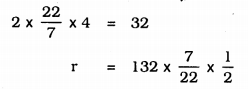 KSEEB Solutions for Class 9 Maths Chapter 13 Surface Area and Volumes Ex 13.6 Q 1