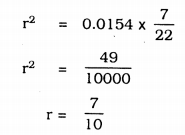KSEEB Solutions for Class 9 Maths Chapter 13 Surface Area and Volumes Ex 13.6 Q 6.1