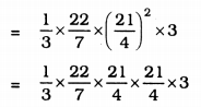 KSEEB Solutions for Class 9 Maths Chapter 13 Surface Area and Volumes Ex 13.7 Q 9.1