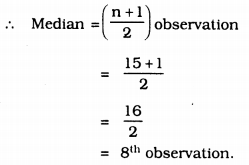 KSEEB Solutions for Class 9 Maths Chapter 14 Statistics Ex 14.4 Q 2.1
