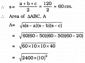 KSEEB Solutions for Class 9 Maths Chapter 8 Heron's Formula Ex 8.2 18