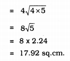 KSEEB Solutions for Class 9 Maths Chapter 8 Heron's Formula Ex 8.2 23