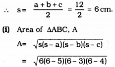 KSEEB Solutions for Class 9 Maths Chapter 8 Heron's Formula Ex 8.2 6