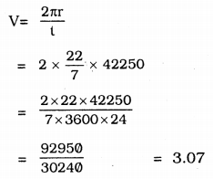 KSEEB Solutions for Class 9 Science Chapter 8 Motion Q 20