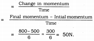 KSEEB Solutions for Class 9 Science Chapter 9 Force and Laws of Motion 4