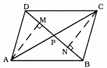 KSSEB Solutions for Class 9 Maths Chapter 11 Areas of Parallelograms and Triangles Ex 11.4 8