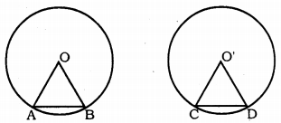 KSSEB Solutions for Class 9 Maths Chapter 12 Circles Ex 12.2 1