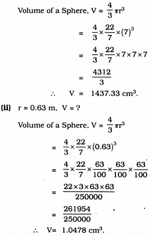 KSSEB Solutions for Class 9 Maths Chapter 13 Surface Areas and Volumes Ex 13.8 1