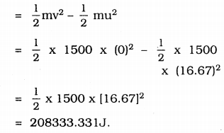 KSSEB Solutions for Class 9 Science Chapter 11 Work and Energy 6