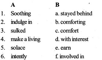 KSEEB SSLC Class 10 English Solutions Prose Chapter 7 Colours of Silence 7KSEEB SSLC Class 10 English Solutions Prose Chapter 7 Colours of Silence 7
