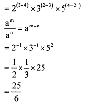 KSEEB Solutions for Class 8 Maths Chapter 10 Exponents Ex. 10.3 2