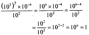 KSEEB Solutions for Class 8 Maths Chapter 10 Exponents Ex. 10.7 2