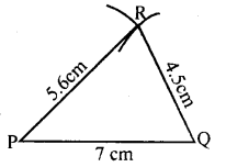 KSEEB Solutions for Class 8 Maths Chapter 12 Construction of Triangles Ex. 12.1 3