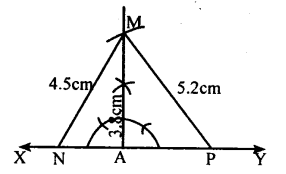 KSEEB Solutions for Class 8 Maths Chapter 12 Construction of Triangles Ex. 12.10 2