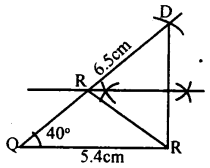 KSEEB Solutions for Class 8 Maths Chapter 12 Construction of Triangles Ex. 12.11 3