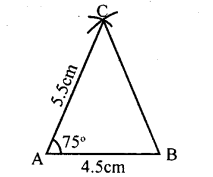 KSEEB Solutions for Class 8 Maths Chapter 12 Construction of Triangles Ex. 12.2 1