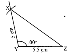 KSEEB Solutions for Class 8 Maths Chapter 12 Construction of Triangles Ex. 12.2 3