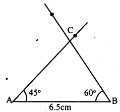 KSEEB Solutions for Class 8 Maths Chapter 12 Construction of Triangles Ex. 12.3 1