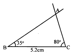 KSEEB Solutions for Class 8 Maths Chapter 12 Construction of Triangles Ex. 12.3 3