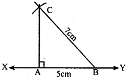 KSEEB Solutions for Class 8 Maths Chapter 12 Construction of Triangles Ex. 12.4 1