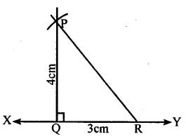 KSEEB Solutions for Class 8 Maths Chapter 12 Construction of Triangles Ex. 12.4 2