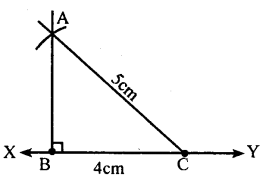 KSEEB Solutions for Class 8 Maths Chapter 12 Construction of Triangles Ex. 12.4 3