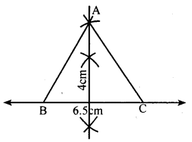 KSEEB Solutions for Class 8 Maths Chapter 12 Construction of Triangles Ex. 12.5 1