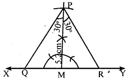 KSEEB Solutions for Class 8 Maths Chapter 12 Construction of Triangles Ex. 12.9 2