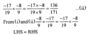KSEEB Solutions for Class 8 Maths Chapter 7 Rational Numbers Ex 7.3 7