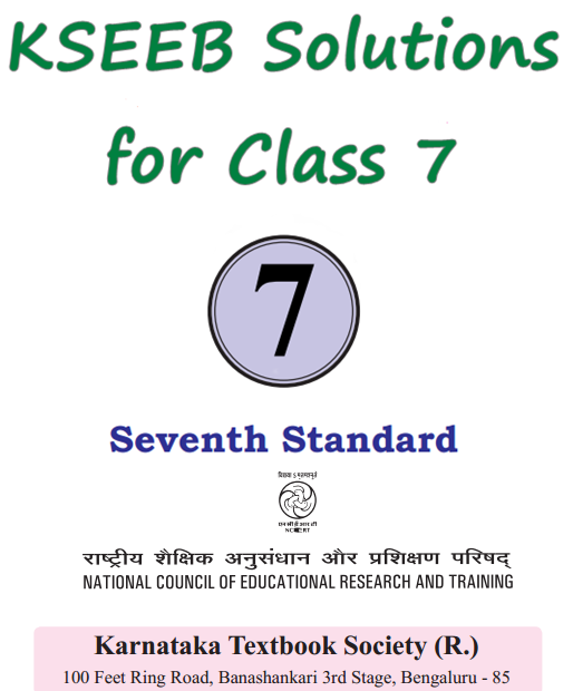 KSEEB Solutions for Class 7 Karnataka State Syllabus
